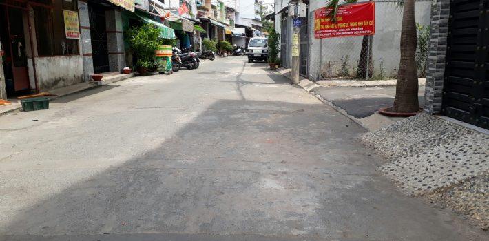 Bán nhà 4.5 tấm hẻm 240 Phạm Văn Chiêu Phường 9 giá 4.9 tỷ (đã bán)