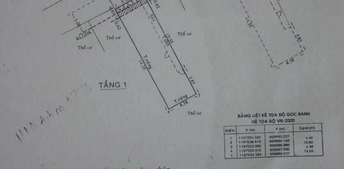 Bán nhà cấp 4 hẻm 216 Nguyễn Văn Công P3 giá 3.6 tỷ (đã bán)