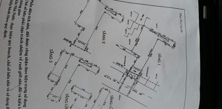 Nhà 3,5 Tấm HXH 220 Đường số 10 Phường 9 GV giá 7,5 tỷ