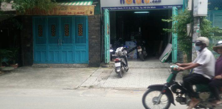 Nhà C4 Hẻm Nhựa đường 2 làn 511 Nguyễn Oanh Phường 17 Giá 4.5 tỷ (đã bán)