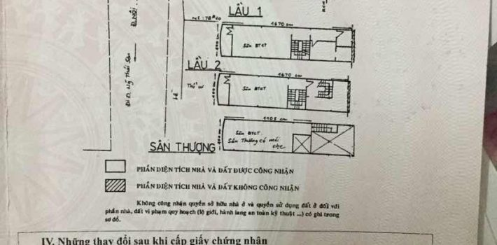 Bán nhà 1T3L MT đường Phạm Ngũ Lão F3 GV giá 6.7 tỷ ko TL (đã bán)