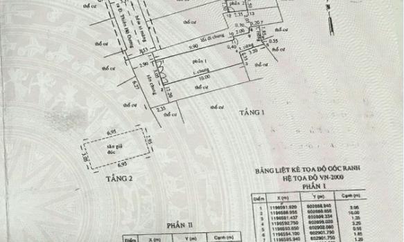 Nhà 1T1L hẻm 3.5m Thiên Hộ Dương P1 Giá 2.5 tỷ (đã bán)