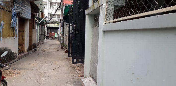 Nhà 1T1L Hẻm 16 đường số 18 phường 8 giá 3,5 tỷ