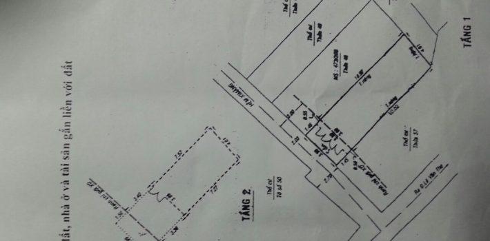 Bán nhà 1T1L Hẻm 631 Lê Đức Thọ P16 Giá 2,75 tỷ (đã bán)