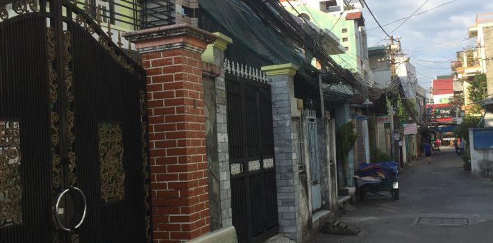 Nhà 1T1L 3.5×30  HXH 5m Lê Đức Thọ p16 có 5 phòng trọ cho thuê giá 4.28 tỷ