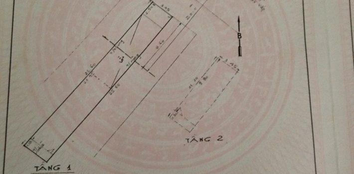 Nhà mặt tiền 1T1L Quang Trung F10 gần UBND Quận 3.5×25 giá 11 tỷ