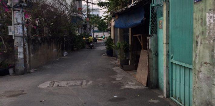Nhà 3,5 tấm hẻm 507 Lê Quang Định P1 Giá 3,8 tỷ