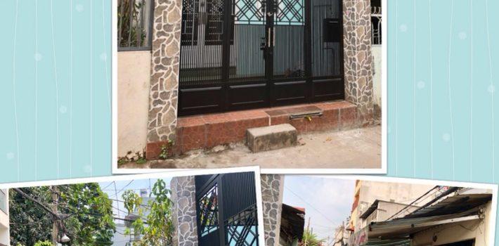 Bán nhà 1T2L đúc thật HXH Nguyễn Oanh P17 Gò Vấp