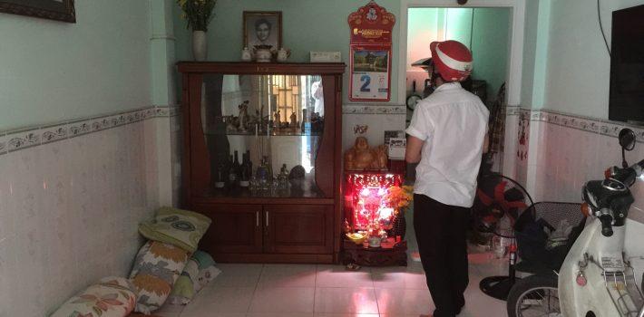 Nhà 1T1L hẻm 3m thông đối diện Emart Phan Văn Trị P5 Gò Vấp: