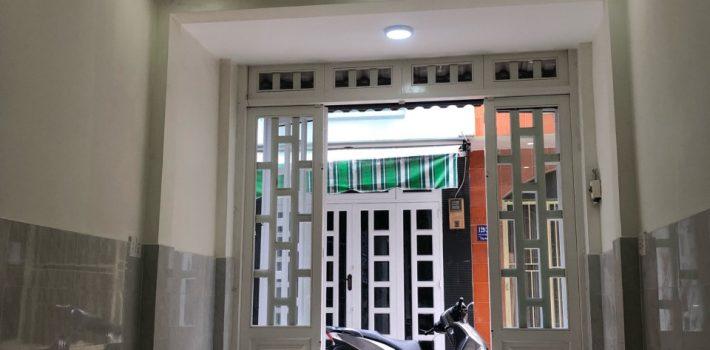 Nhà 1T1L hẻm XH 129 Huỳnh Văn Nghệ F12 Gò vấp