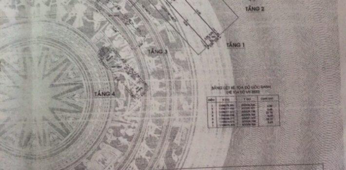Nhà đúc 4 tấm mặt tiền đường số 17 F5 giá 6,5 tỷ