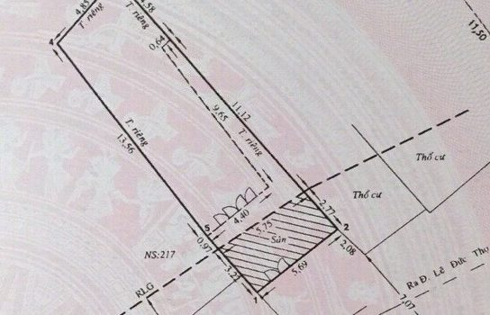 Đất Mặt tiền đường 28 – p6 – 5.72 tỷ