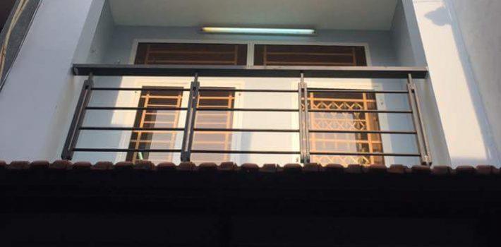 Nhà 1T1 lầu hẻm 380 cây trâm F9 giá 2.45 tỷ