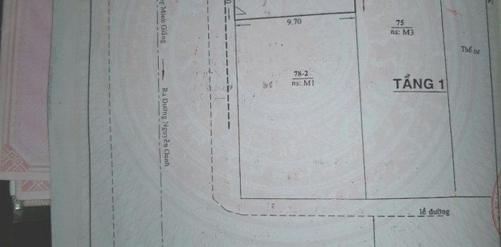 Nhà mặt tiền Lê Thị Hồng chợ Căn Cứ 26 DT:4×10 1T1L giá 4,5 tỷ