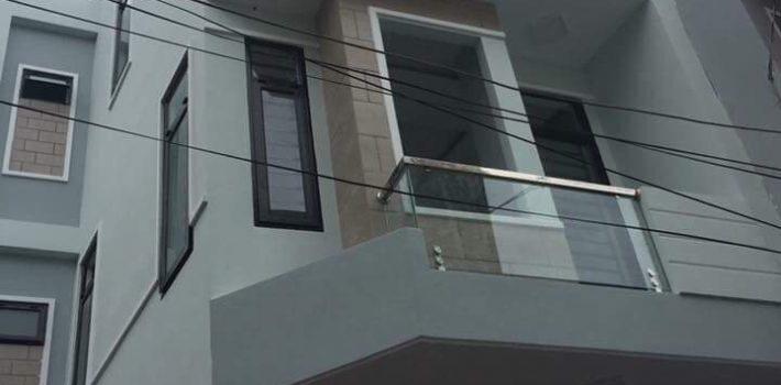Nhà 2 lầu Hẻm 25 Lê Văn Thọ F8  giá 3.8 tỷ