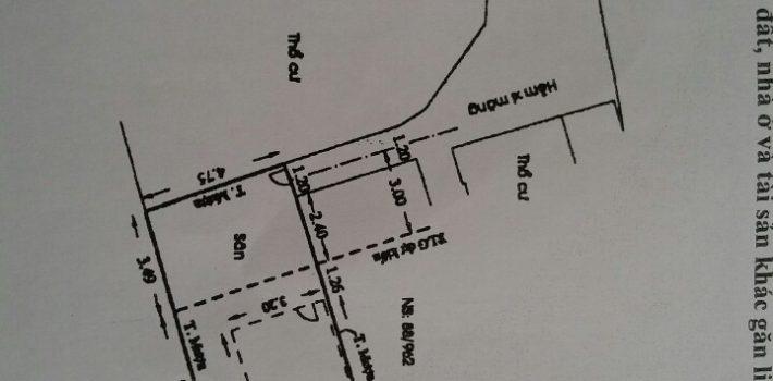 Nhà cấp 4 77m2 gần chợ An Nhơn chỉ 3.5 Tỷ