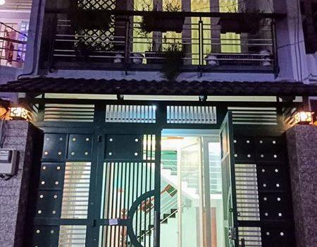 Nhà đẹp 1T1L Bùi Quang Là 4×14 hẻm xe hơi thông, giá 3,59 tỷ
