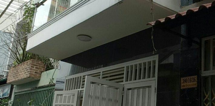Nhà 1T1L hẻm 380 Cây Trâm F9 GV giá 3.1 tỷ TL