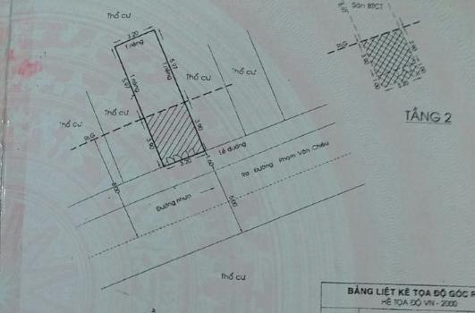 nhà đẹp 1T1L hẻm xe tải 8m đường 59 P14 giá 2,55 tỷ