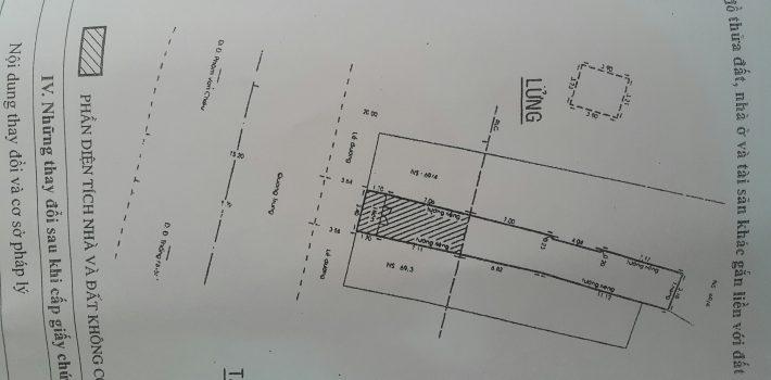 Mặt tiền 3,4×27 Quang Trung P8 Gò Vấp