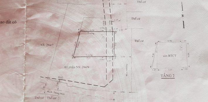 Nhà 1T1L HXH 294 Thống Nhất F16 giá 3,7 tỷ