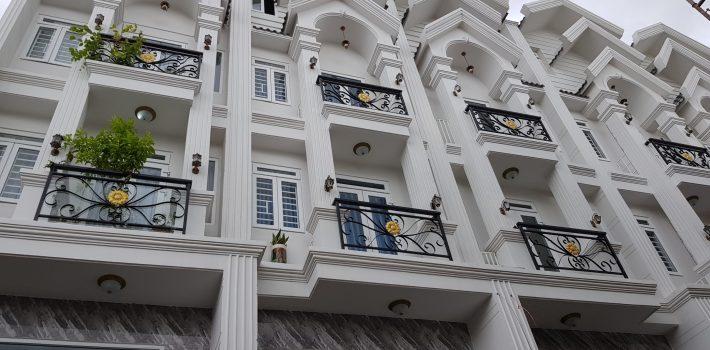 Nhà cực đẹp 4,5 tấm Phạm Văn Đồng F3 giá 6.2 tỷ