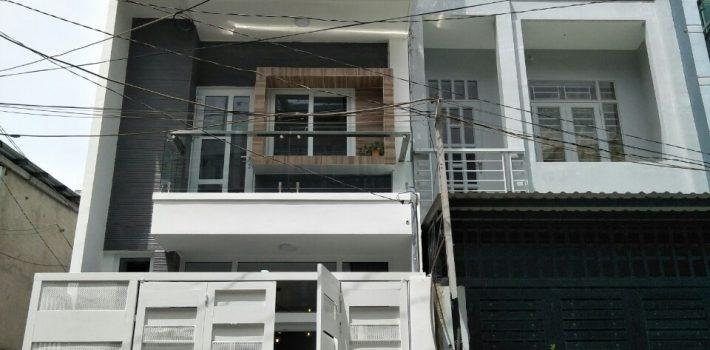 Nhà 1Trệt 3Lầu Hẻm 407 Phạm Văn Chiêu f14 giá 4.6 tỷ