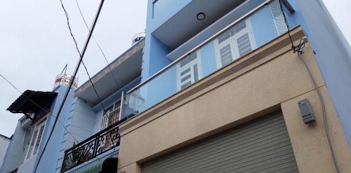 Nhà 1Trệt 2 Lầu Hẻm 162Nguyễn Duy Cung f12Giá 3.5tỷ