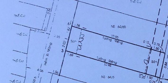 Nhà cao cấp 3.5 tấm HXH đường số 6 P16 giá tốt (ĐÃ BÁN)