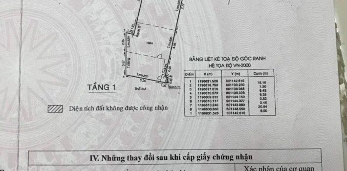 Bán đất mặt tiền đường số 2 Nguyễn Kiệm Phường 3 Gò Vấp