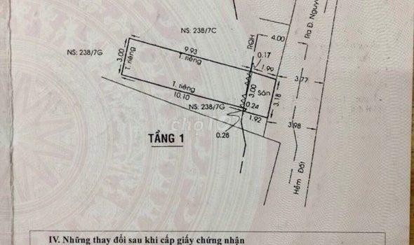 Bán nhà đường Nguyễn Văn Lượng Phường 17 Gò Vấp